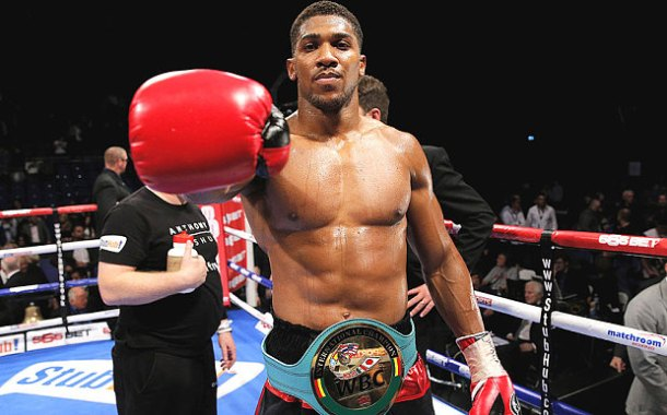 CHAMPION FOR CHARITY: Anthony Joshua