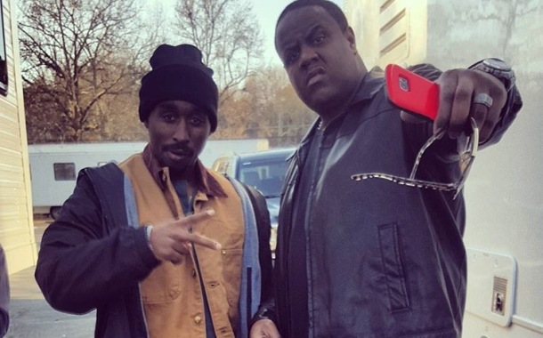 BIG SHOES TO FILL: Demetrius Shipp Jr. and Jamal Woodard as Notorious B.I.G