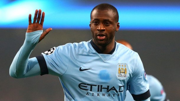 FOOTBALLER 0F THE YEAR: Yaya Toure