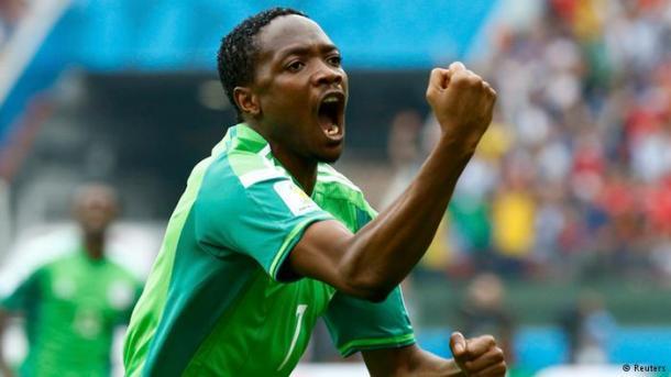 BIDDING WAR: Nigeria international Ahmed Musa