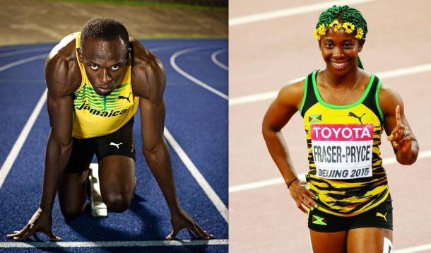 TOP AWARD: Usain Bolt and Shelly-Ann Fraser-Pryce