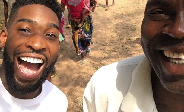 HAPPY IN THE MOTHERLAND: Tinie Tempah