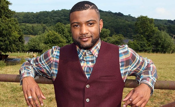 TURKEY TIME: Former JLS star turned farmer, JB Gill