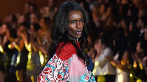 BLACK GIRLS ROCK: Leomie on the Victoria's Secret show in December