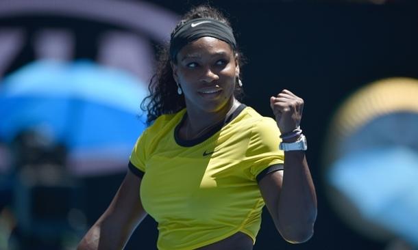 CHAMPION: Serena Williams