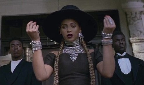 TOP SPOT: Beyoncé