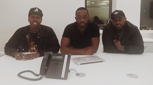 SECRET MEETING: Jamal Edwards (SBTV), Rashid Kasirye (Link Up TV) and Posty (GRM Daily)