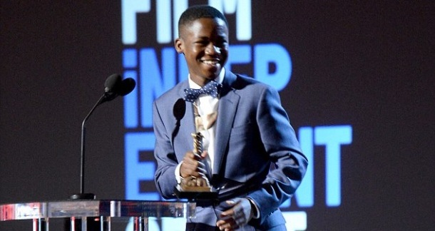WINNER: Beasts of No Nation star Abraham Attah