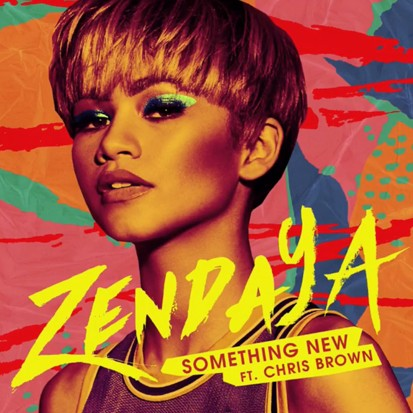 CHRIS BROWN COLLABORATION: Something New is the first single to be taken from Zendaya's upcoming album