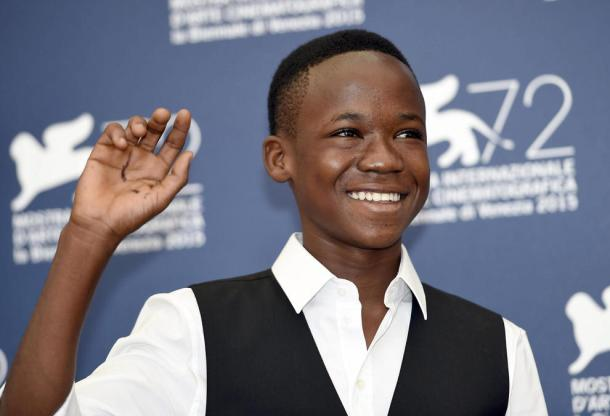 UP AGAINST HOLLYWOOD HEAVYWEIGHTS: Abraham Attah