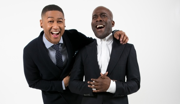 HOSTS WITH THE MOST: Rickie and Melvin