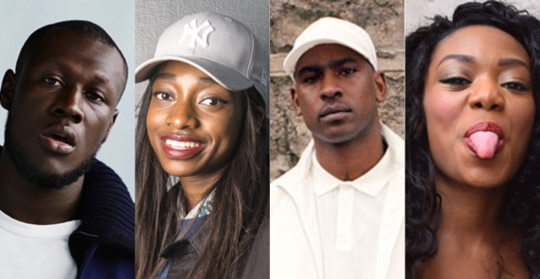 TEAM UK: Stormzy, Little Simz, Skepta and Lady Leshurr