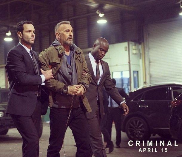 ALL-STAR CAST: Emmanuel on a promotional shot with actor Kevin Costner