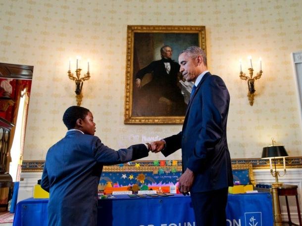 FOCUSED: Jacob Leggette meets President Obama