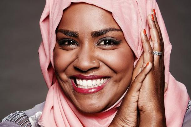 BY ROYAL APPOINTMENT: Great British Bake Off winner Nadiya Hussein