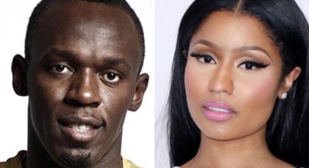 MOST INFLUENTIAL: Usain Bolt and Nicki Minaj