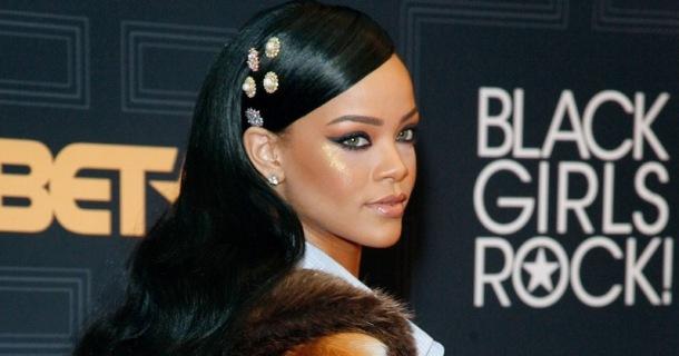 HONOURED: Rihanna