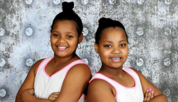 DOUBLE ACT: Kamilah Scott and Nikayla Scott