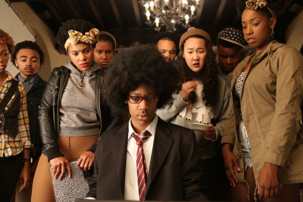 HIT FILM: The cast of Dear White People