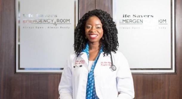 LIFE-SAVER: Dr Foyekemi Illakaytor