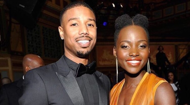 CO-STARS: Michael B Jordan and Lupita Nyong'o