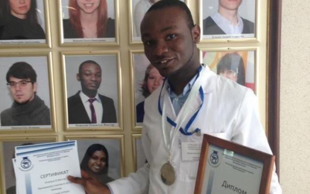 MAKING HISTORY: Victor Olalusi