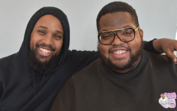 COMMUNITY FOCUS: (L-R) Xxx and Solomon Smith