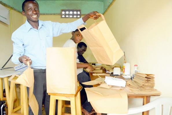 PAPER BAG KING: Andrew Mupaya