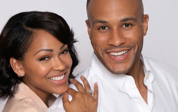 BEST-SELLING AUTHORS: Meagan Good and husband Devon