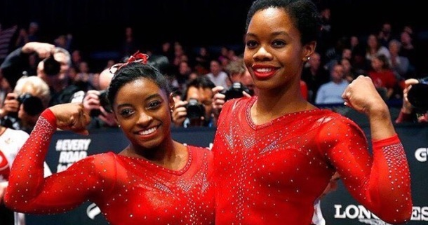 TEAM USA: Simone Biles and Gabby Douglas