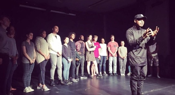 GIVING BACK: John Boyega