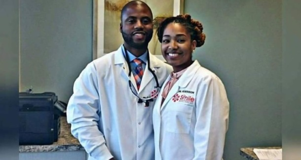 INSPIRATION: Dr Robinson and Dr Robinson