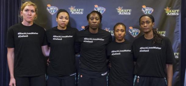 UNITY: Female NBA stars