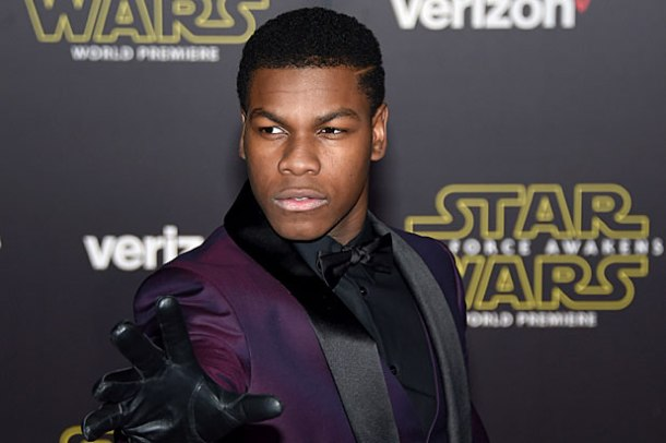 IT'S A WRAP: John Boyega