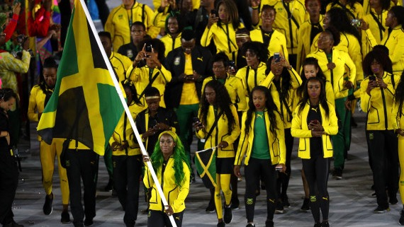 FLAG BEARER: Shelly-Ann Fraser Pryce
