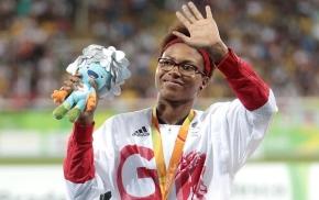 Kare Adenegan, aged 15, claims silver at the Rio ParalympicGames