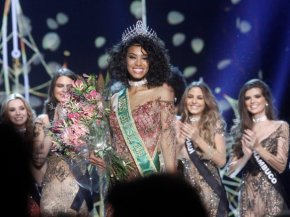 Raissa Santana, 21, becomes second black woman crowned Miss Brasil in the competition's 62-yearhistory
