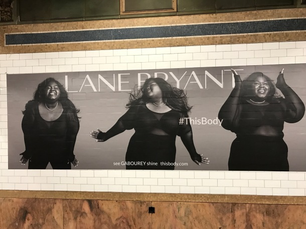 ALL SMILES: Gabourey Sidibe's campaign for Lane Bryant