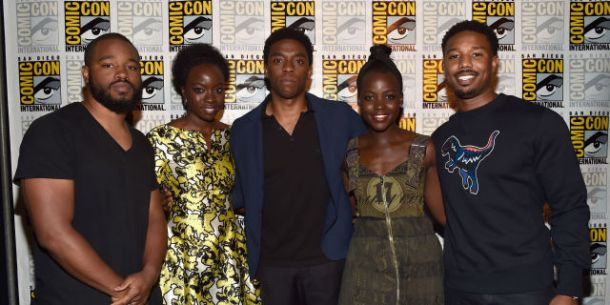 STAR-STUDDED CAST AND CREW: Black Panther