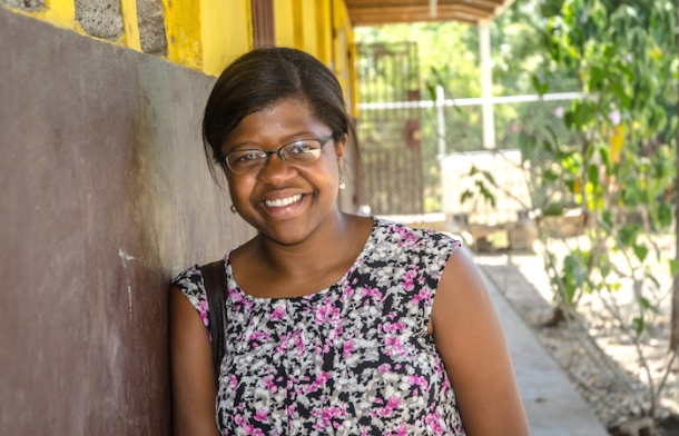 MAKING EDUCATION ACCESSIBLE TO ALL: Nedgine Paul
