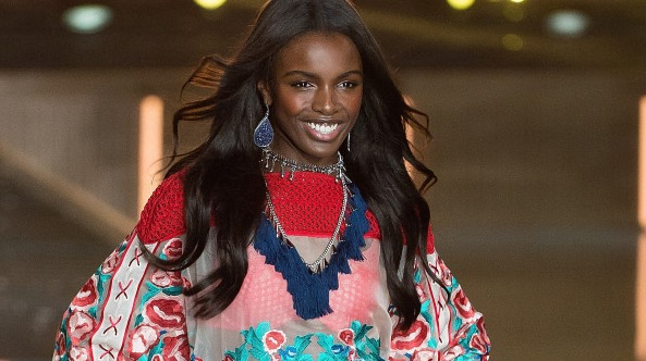 CATWALK READY: Leomie Anderson