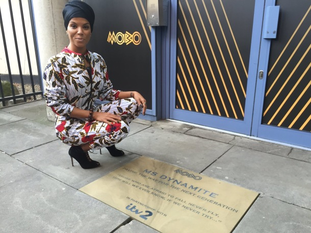 HONOURED: Ms Dynamite