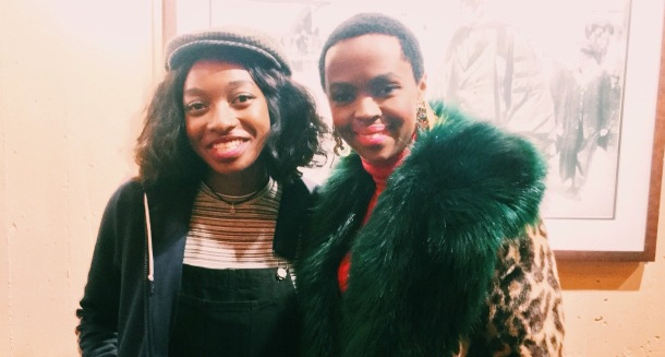 HIGH PRAISE: UK rapper Little Simz with Lauryn Hill on tour
