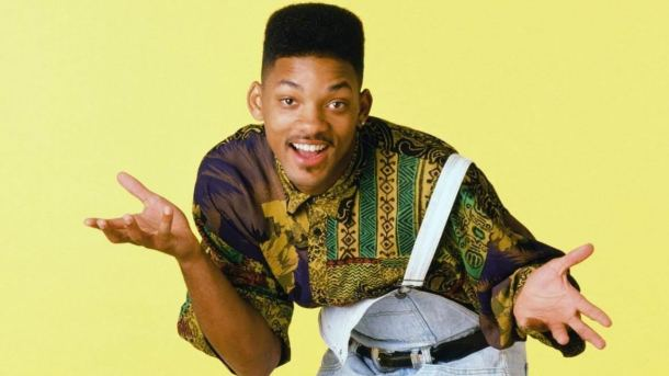 HIT SHOW: Will Smith as The Fresh Prince in the hit Nineties show