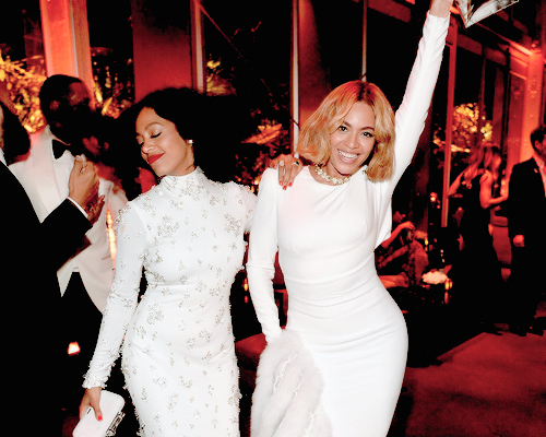 SISTER SISTER: Beyoncé and Solange