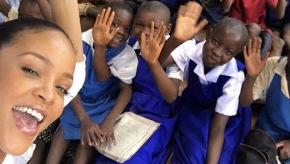 Rihanna visits Malawi to promoteeducation