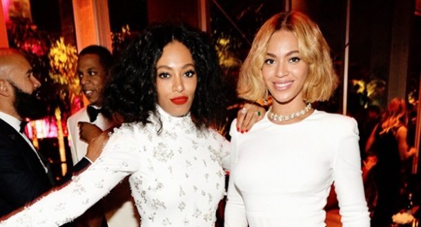 SIBLING LOVE: Solange and Beyoncé