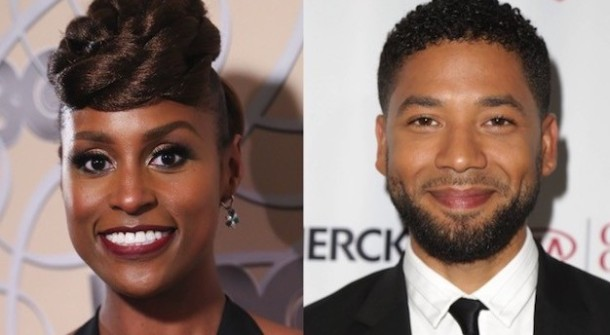 POWERFUL PAIR: Issa Rae and Jussie Smollett