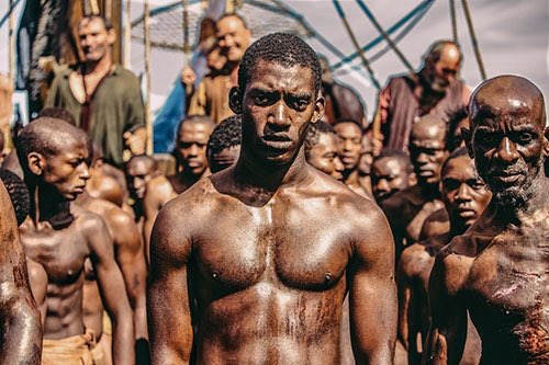UK PREMIERE: Malachi Kirby in the role of Kunte Kinte