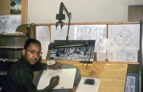 Disney's first African-American animator started working for the studio in his 20s. He's still there at81